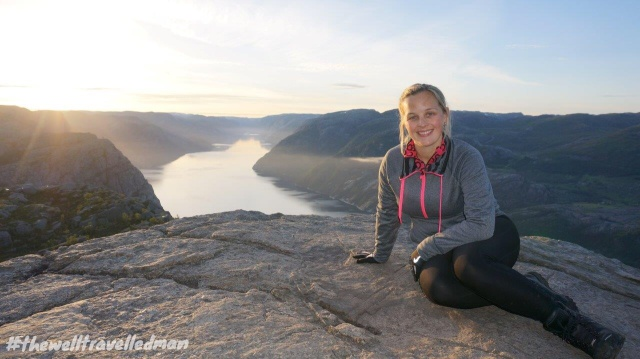 thewelltravelledman stavanger pulpit rock preikestolen hike norway
