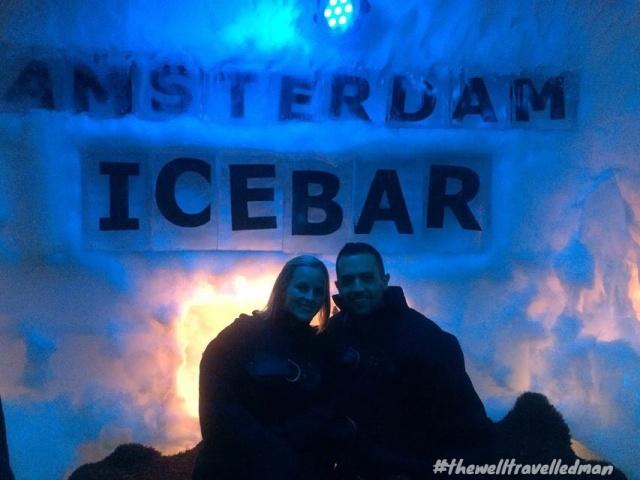 thewelltravelledman travel blog Amsterdam icebar