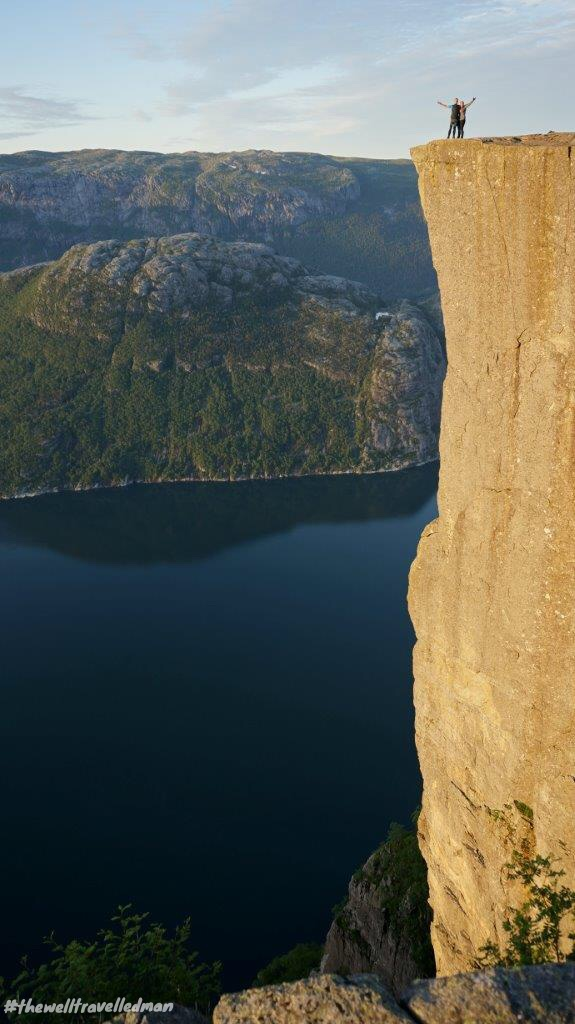 thewelltravelledman stavagner pulpit rock preikestolen hike norway