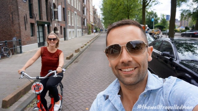 thewelltravelledman travel blog Amsterdam mac bike rental exploring the city