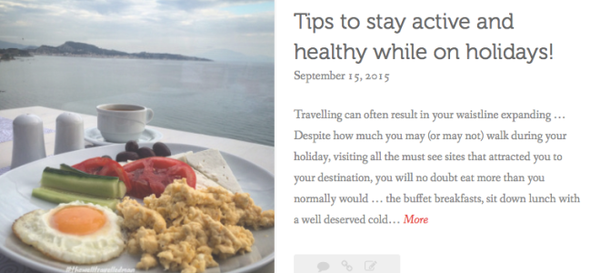 thewelltravelledman tips to stay healthy while travelling