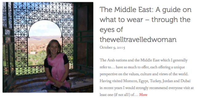 thewelltravelledman the middle east a guide on what to wear