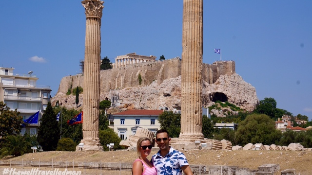 thewelltravelledman The Temple of Olympian Zeus athens
