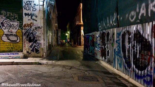 thewelltraelledman graffiti athens