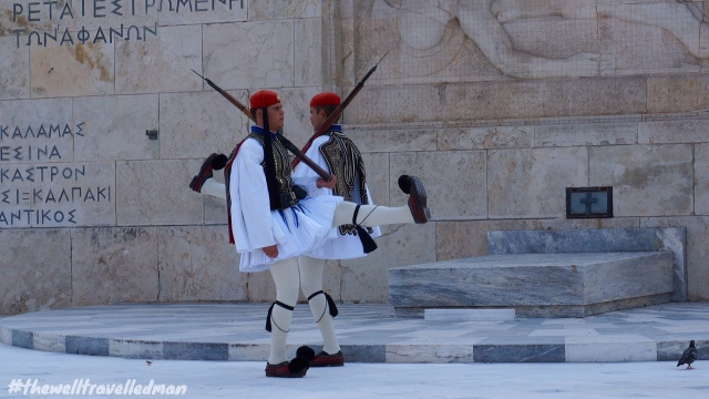 thewelltravelledman changing of the guard athens