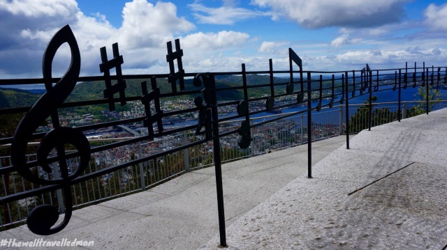 Bergen viewing platform