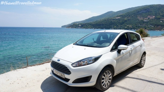 Our zippy car in Zakynthos!