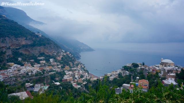 The view from Villa Cimbrone Gardens, Ravello