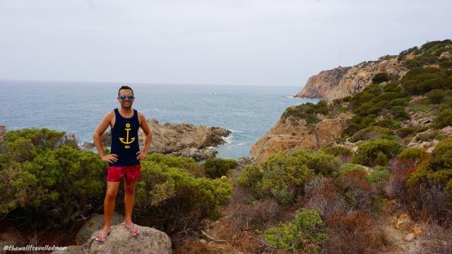 thewelltravelledman sardina Spiaggia di Cala Cipolla