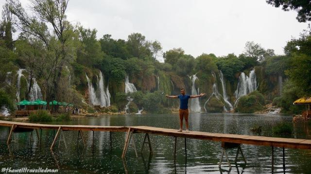 thewelltravelledman kravice falls bosnia
