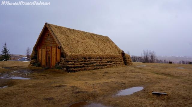 Cabin at the Skalholt Church