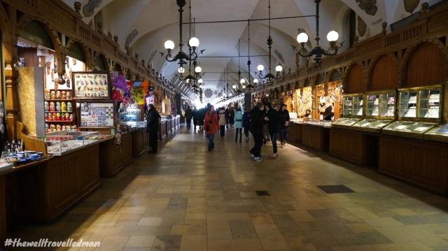 Krakow market building