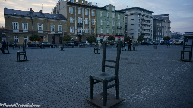 Krakow Ghetto Memorial