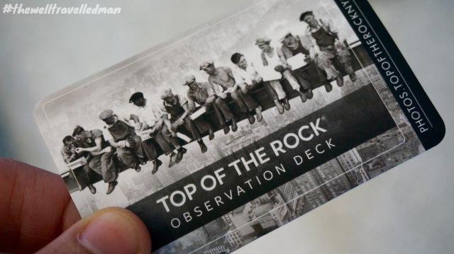 thewelltravelledman top of the rock