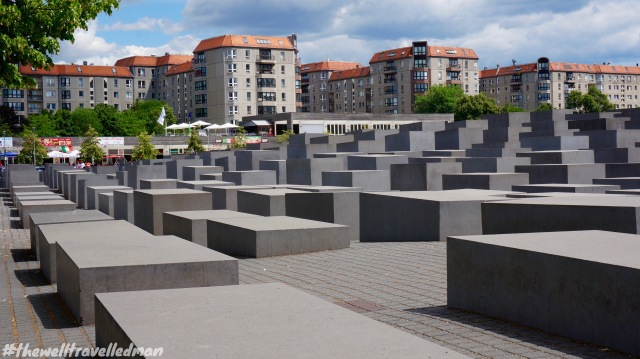 The Memorial to the Murdered Jews of Europe, also known as the Holocaust Memorial
