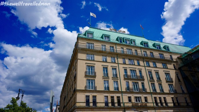 """Hotel Adlon - Michael Jackson dangled his then-infant son """"Blanket"""" out one of the hotel's windows"""