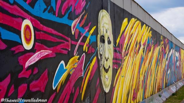 East Side Gallery - Berlin Wall Graffiti