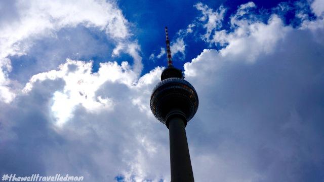 TV Tower / Fernsehturm de Berlín