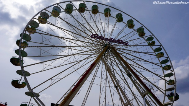 The Ferris Wheel as part of the Hyundai Fan Park for the 2014 Football World Cup