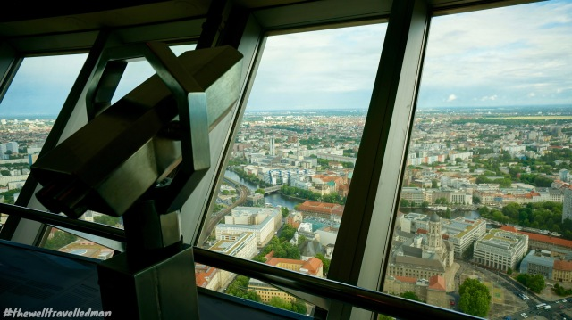 View from the TV Tower / Fernsehturm de Berlín