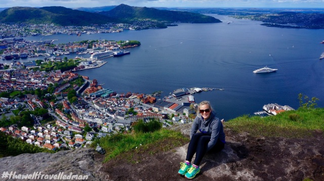 Short hike from Bergen old town for this incredible view!