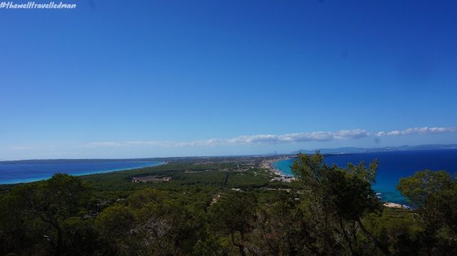 The view over Formentera