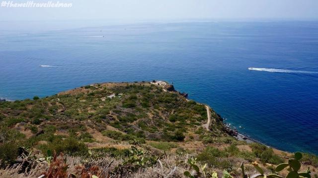 Salina, an island off Sicily