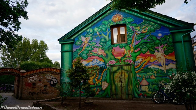 Awesome art work in the area of Christianshavn, ocated on the island of Amager and separated from the rest of the city centre by the Inner Harbour