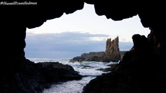 thewelltravelledman kiama cathedral rocks