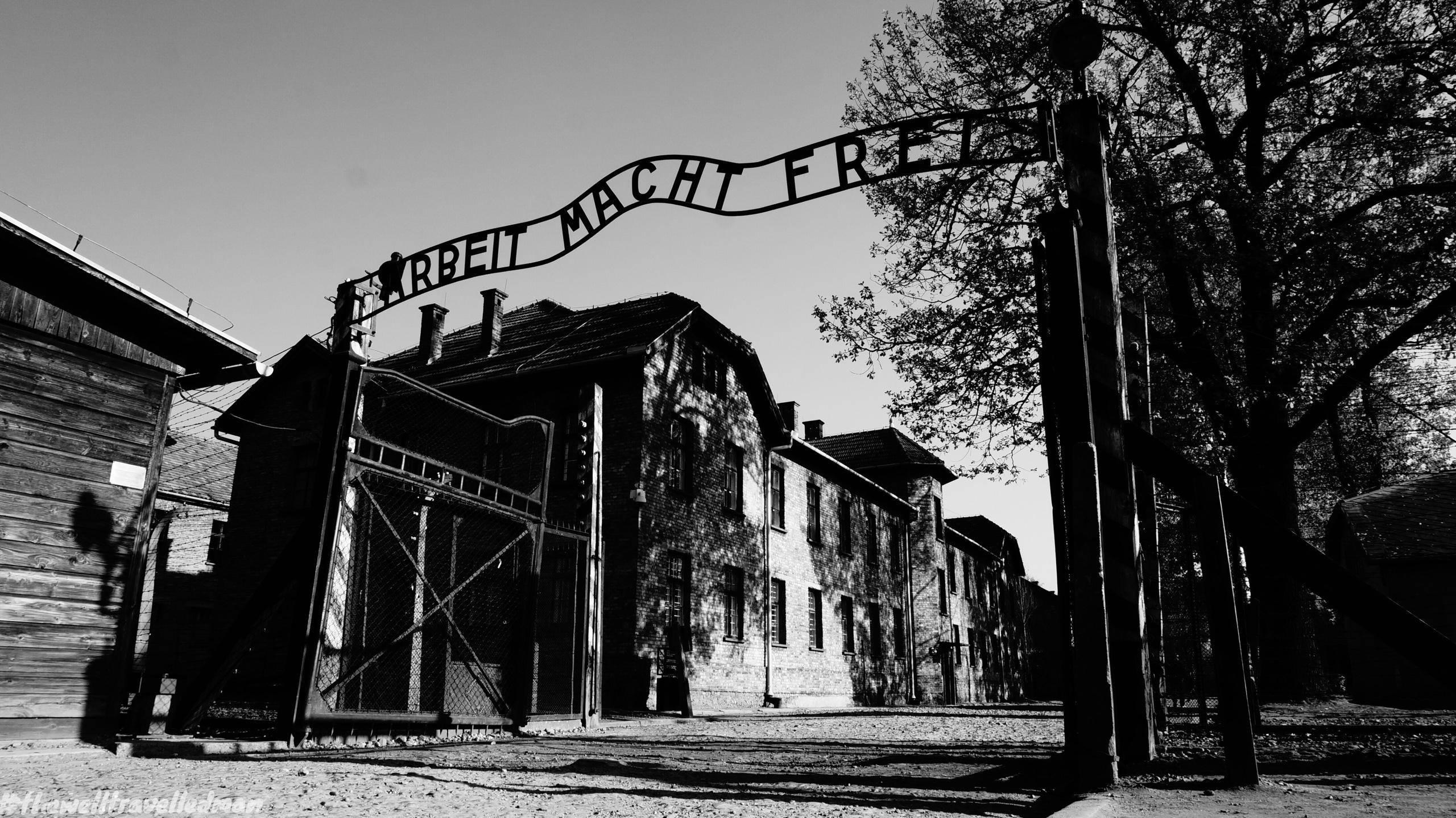 Thewelltravelledman Visiting Auschwitz I And Auschwitz