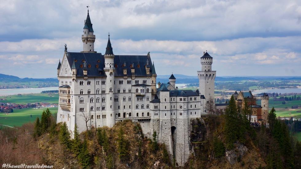 thewelltravelledman Neuschwanstein castle germany