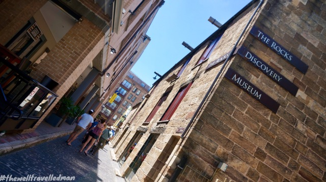 thewelltravelledman the rocks walking tour sydney australia