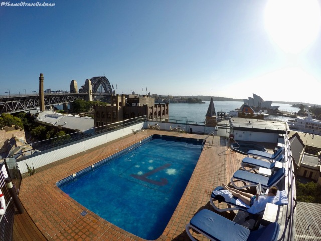 thewelltravelledman holiday inn old sydney australia the rocks.