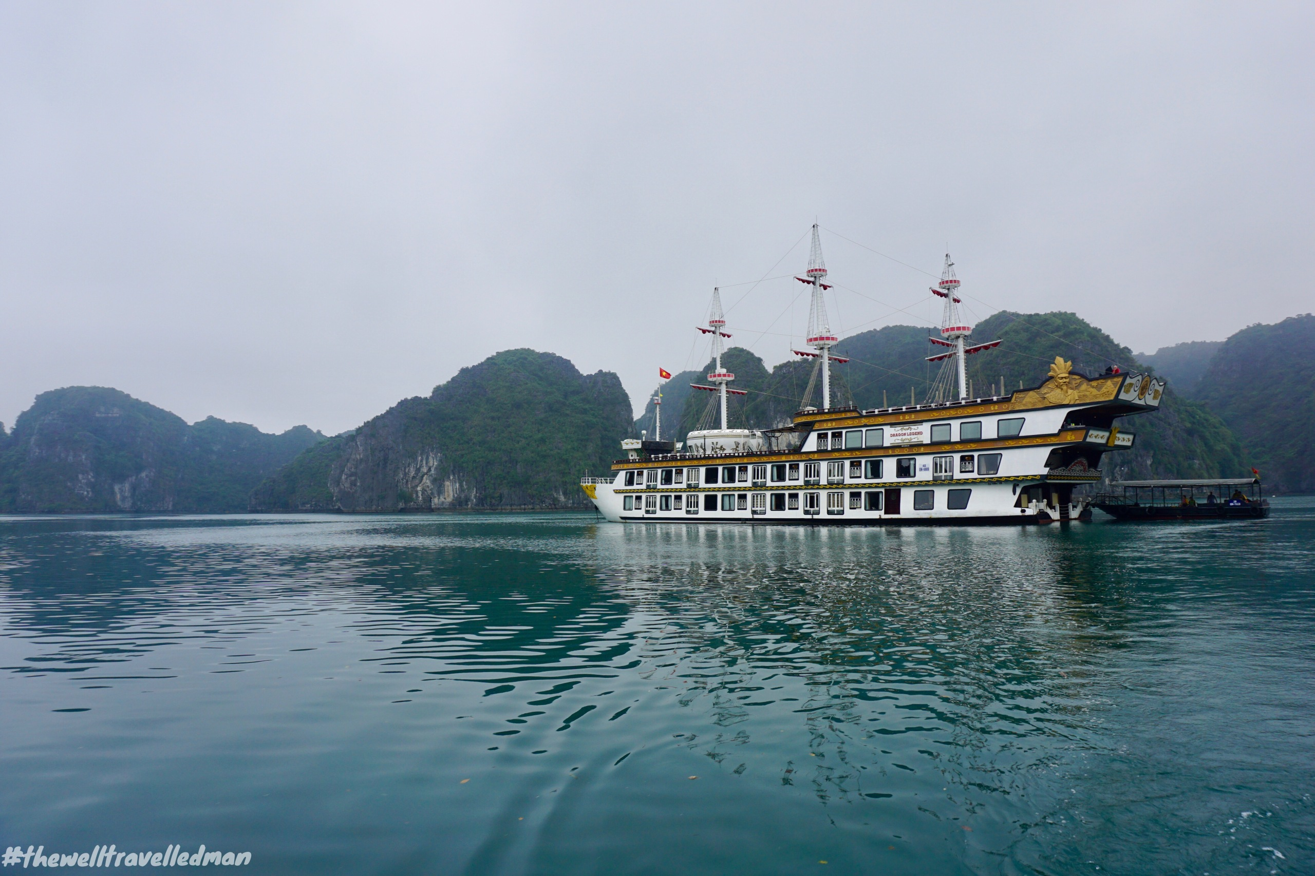thewelltravelledman halong bay 2 night cruise indochina junk